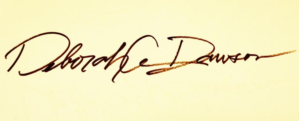 Deborah Dawson Signature