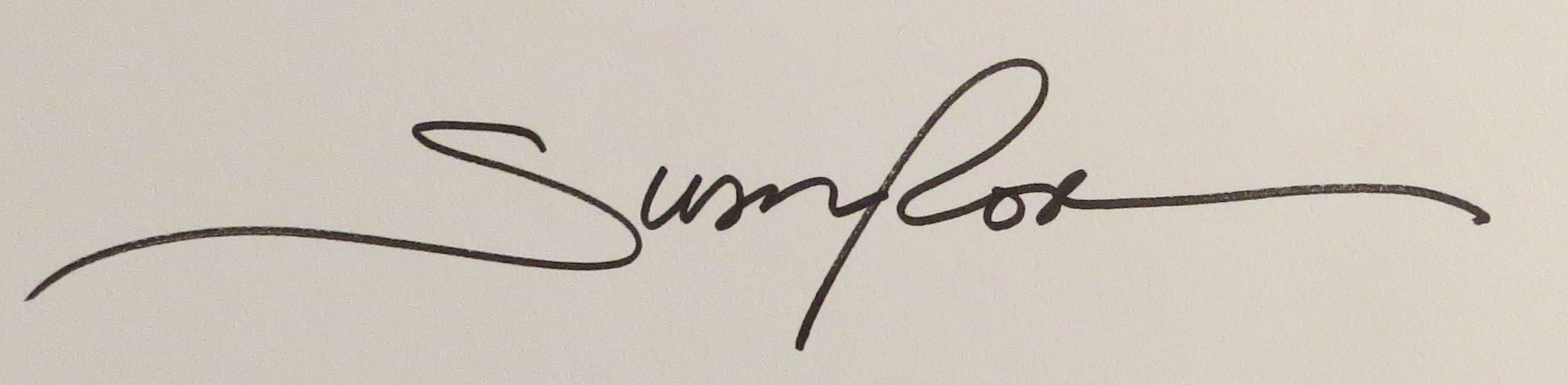 Susan Rose Signature