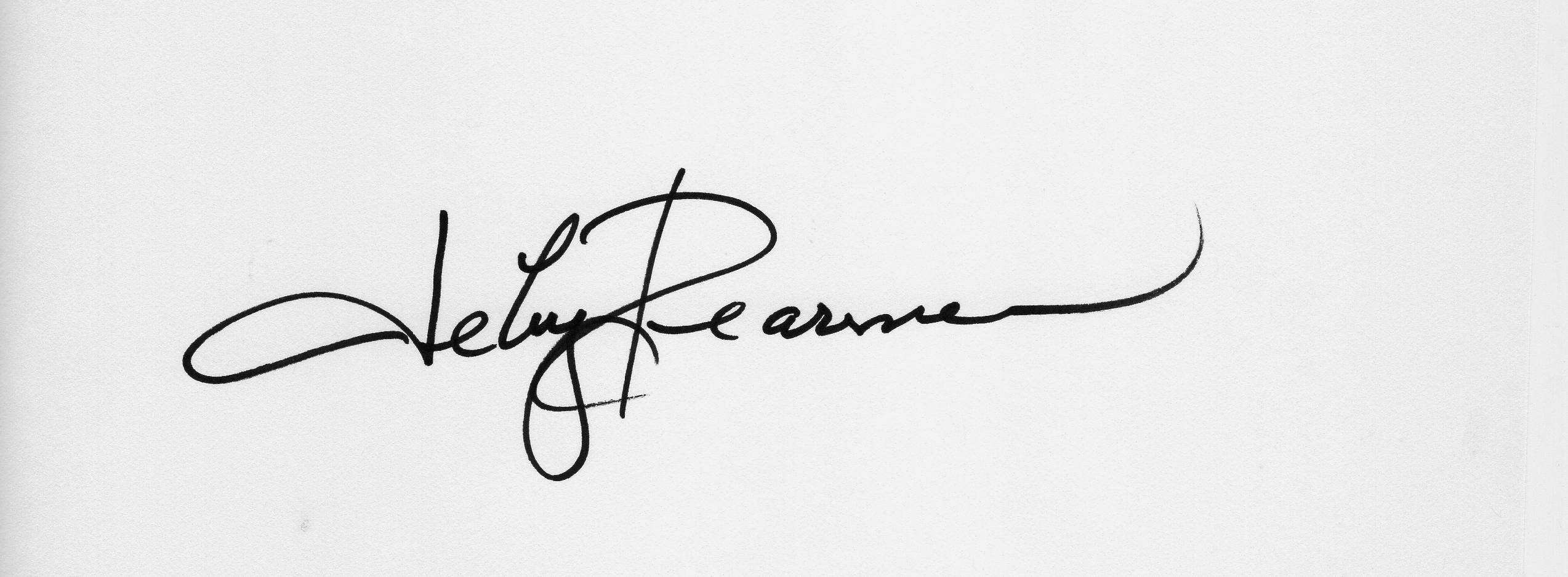 Deby Dearman Signature