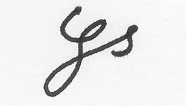 Glen stewart Signature
