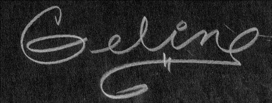 Angeline (Geline) Payne Signature