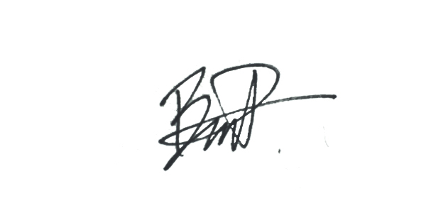 Benjamin Parnell Signature
