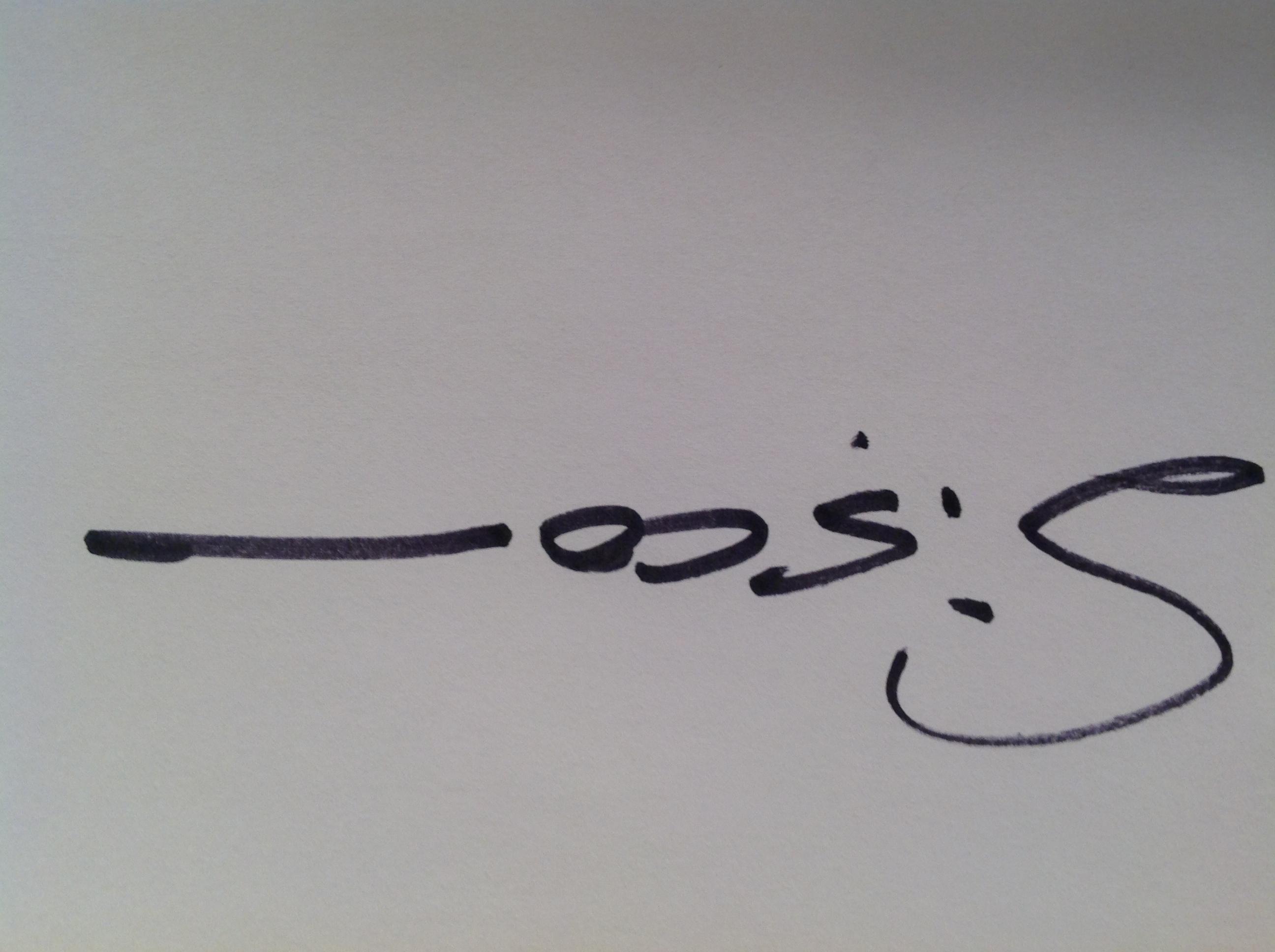 Kirk Sisco Signature
