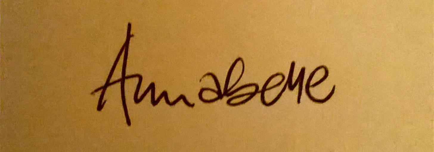 Annabelle Spencer Signature