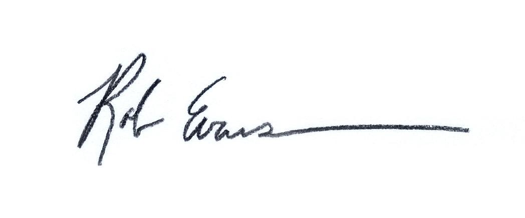 Rob Evans Signature