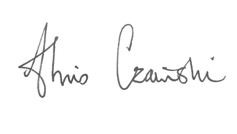 chris czainski Signature