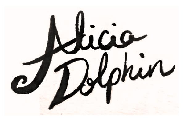 Alicia dOLPHIN Signature