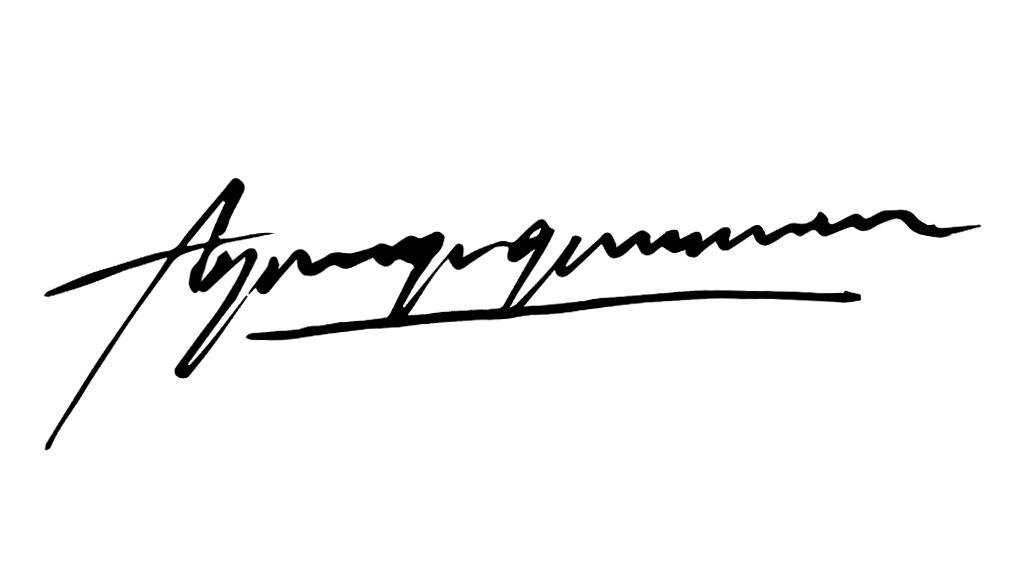 agung gunawan Signature