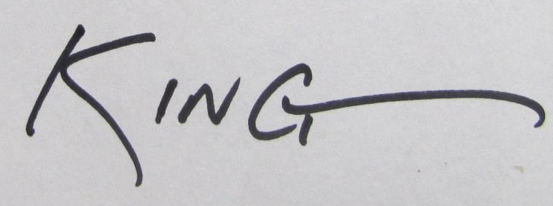 Steve King Signature