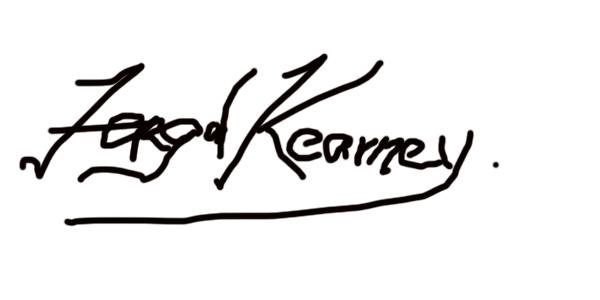 Fergal Kearney Signature