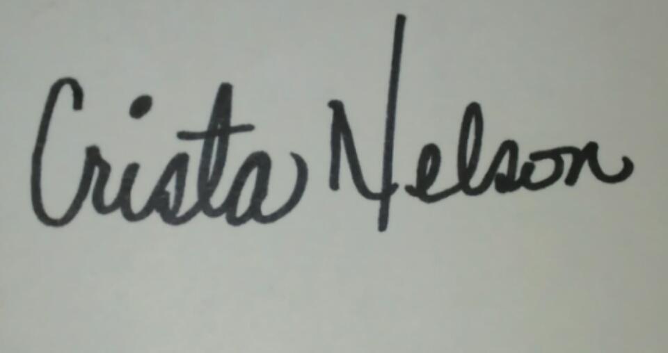 crista Nelson Signature