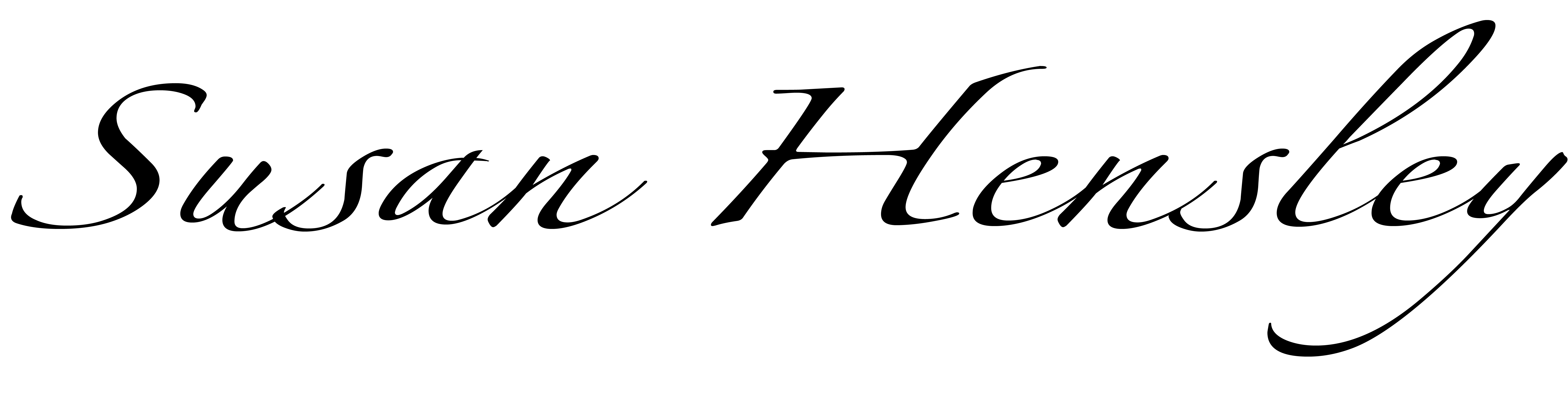 Susan Hensley Signature