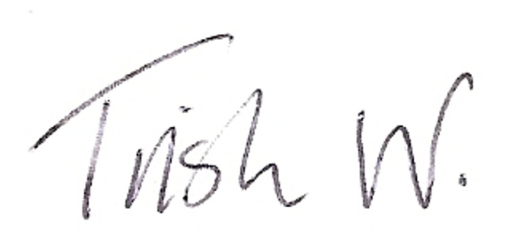 Trish Woods Signature