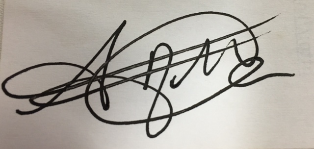 Aisha McCoy Signature