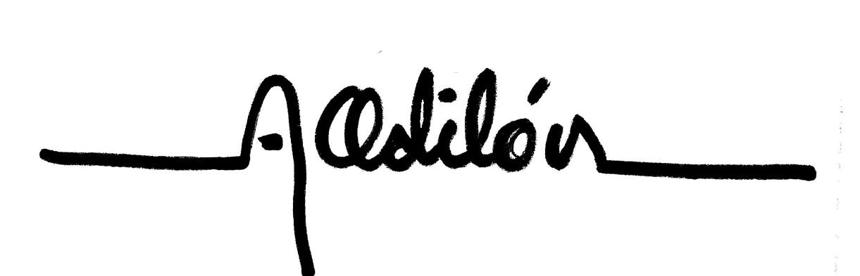 Arturo Odilón Signature
