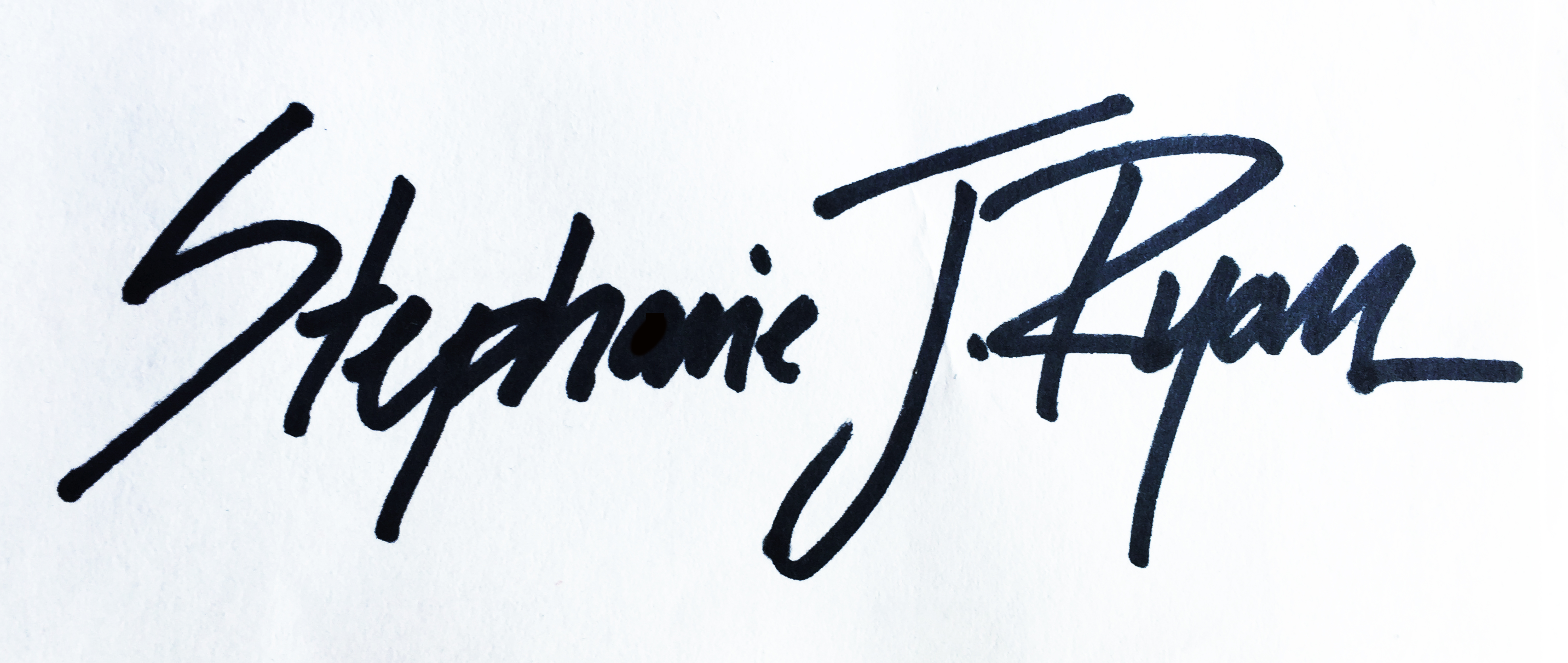 Stephanie J Ryan Signature