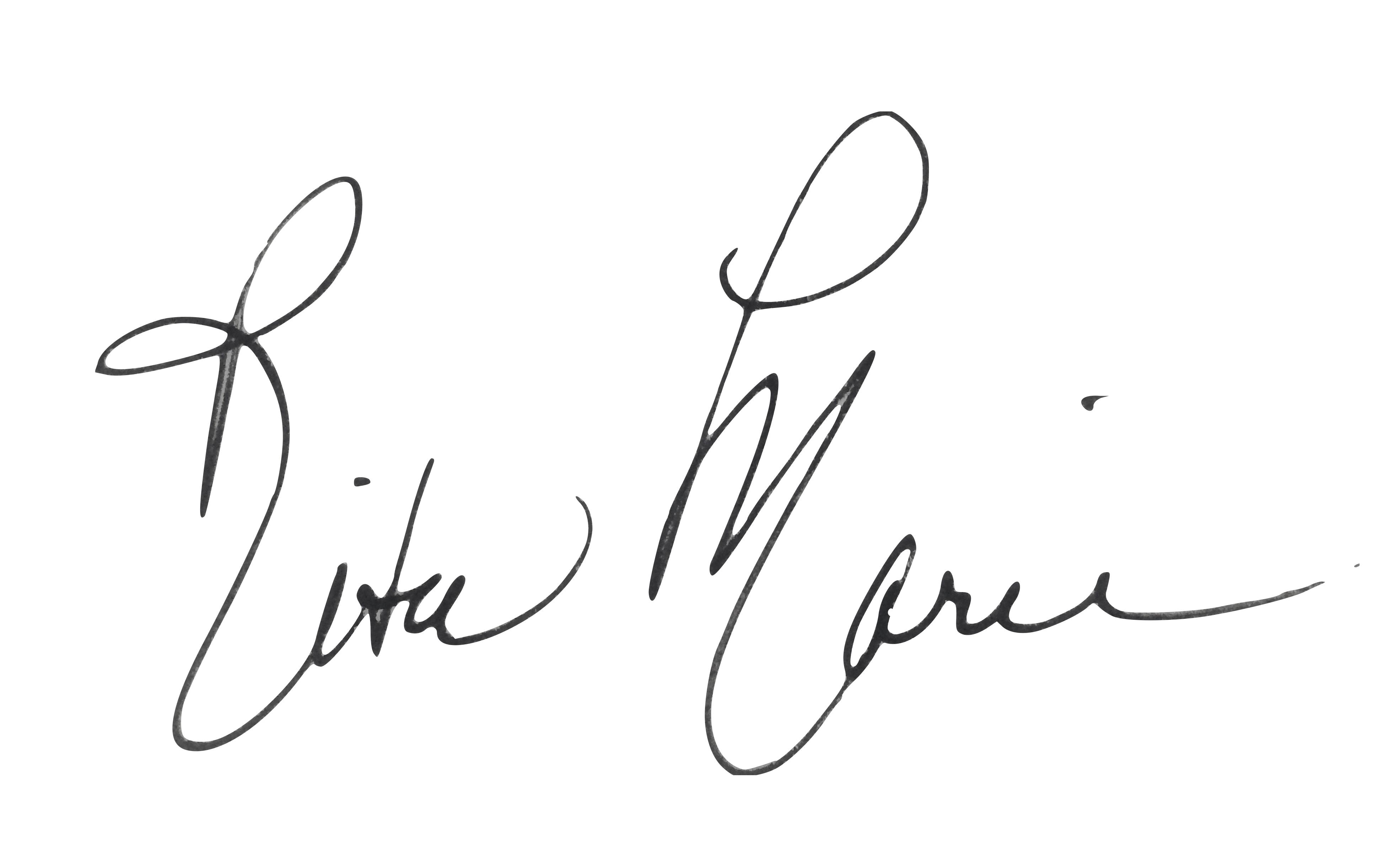 Rita Marie Signature