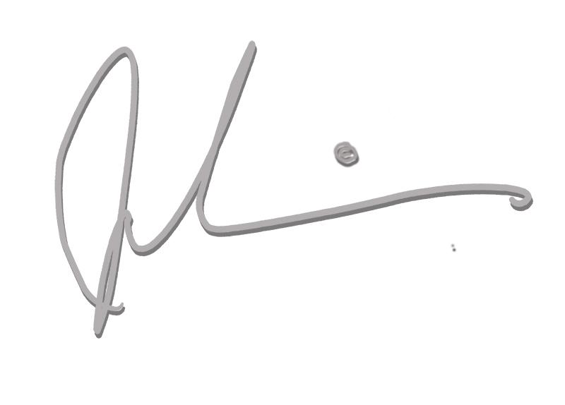 John Daniels Signature