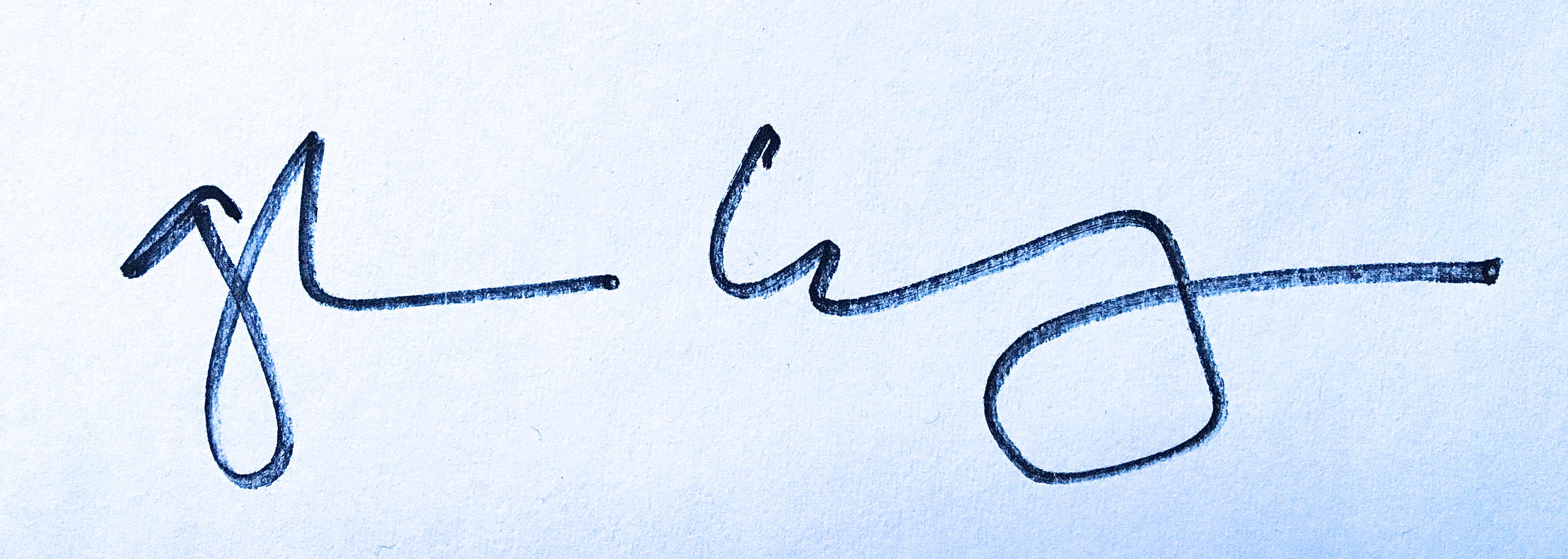 Galen Cheney Signature