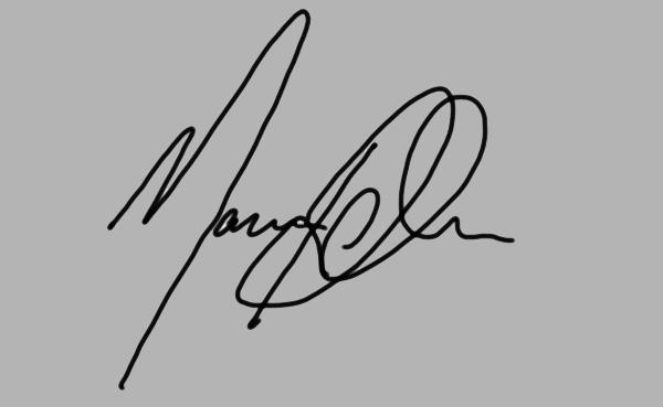 Marcus Richardson Signature