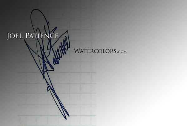 Joel Patience Signature