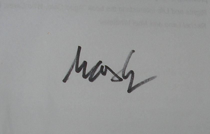 Max Gerreyn Signature