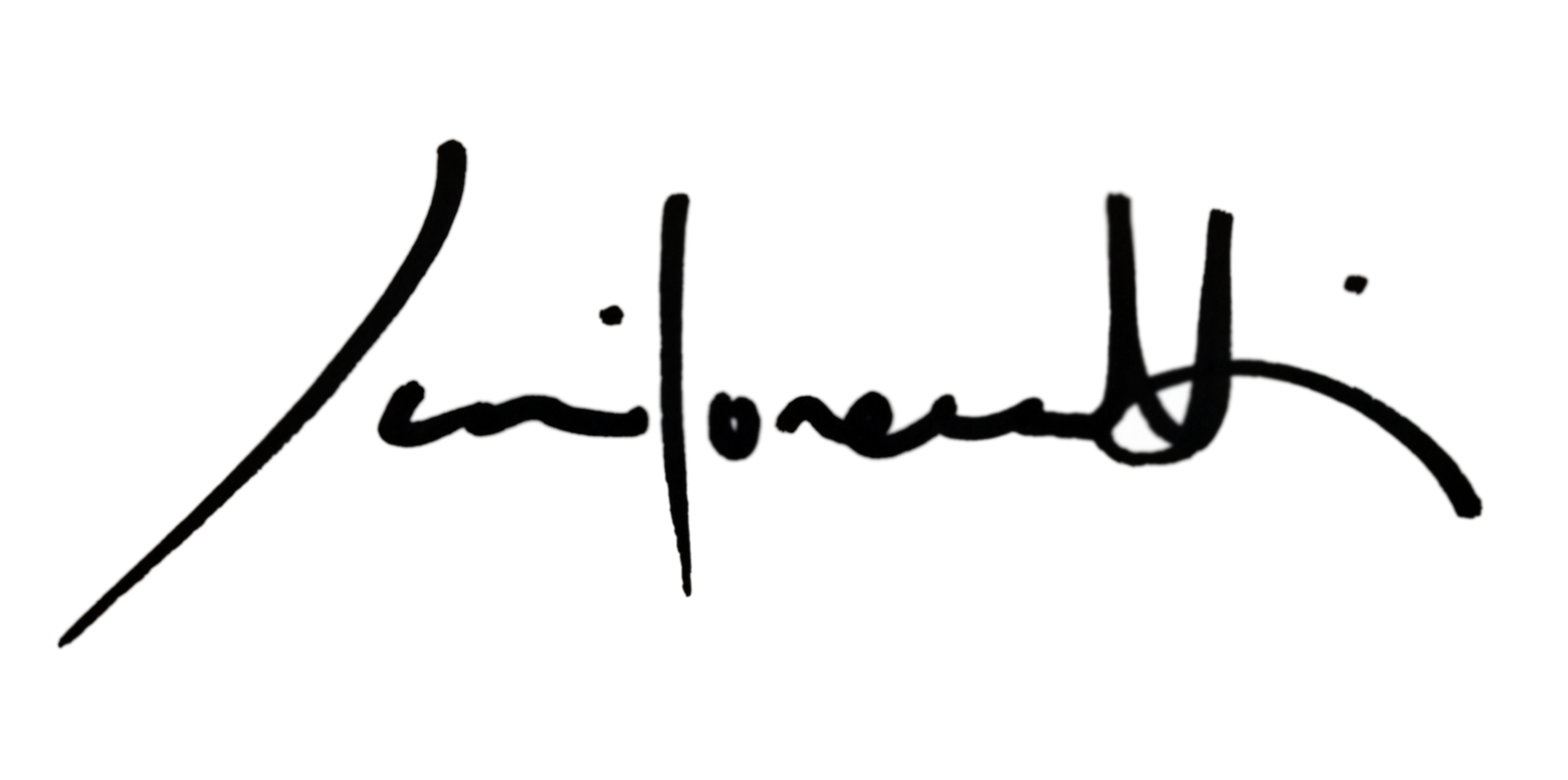 Juri Lorenzetti Signature