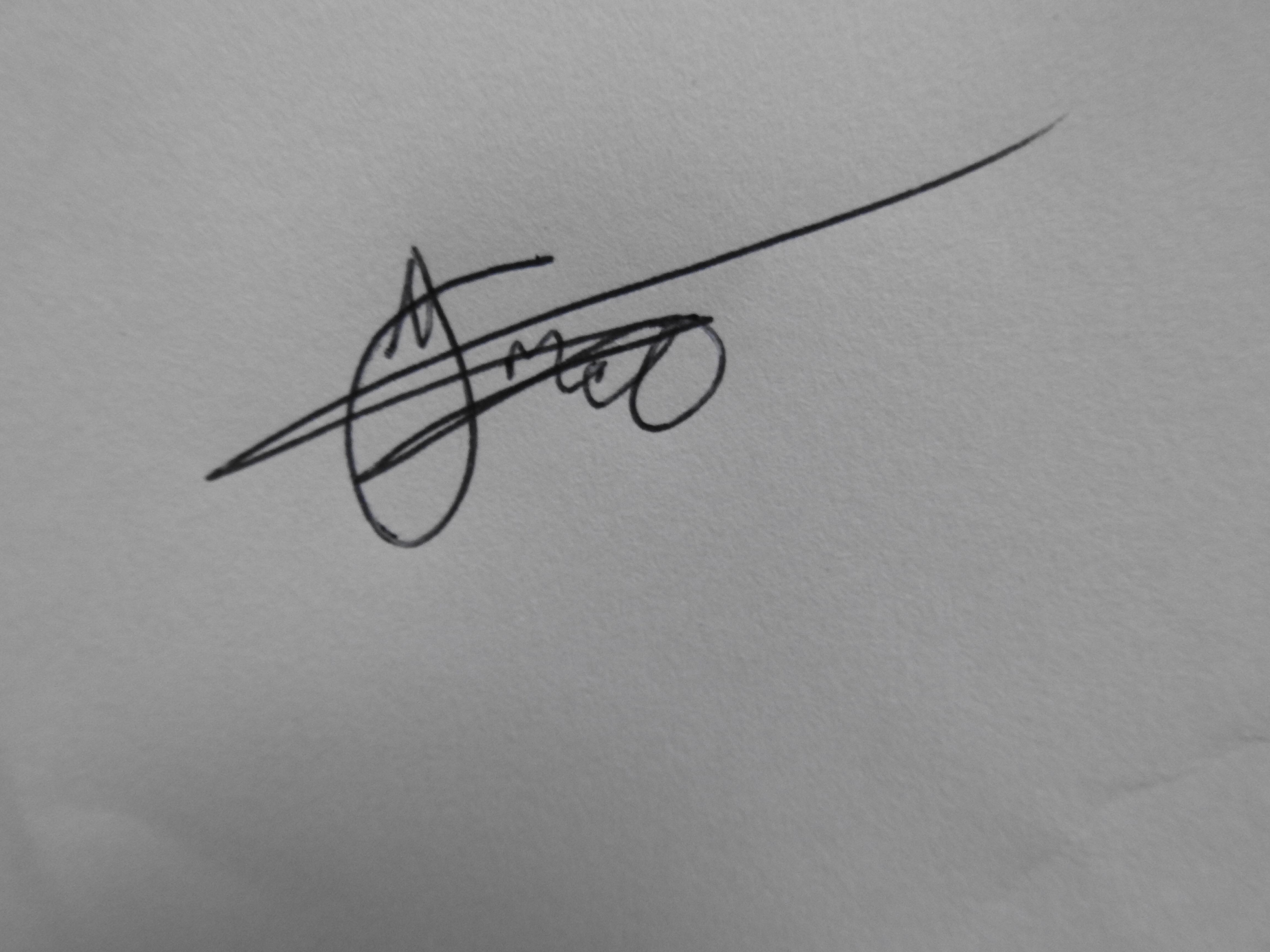 Thabo Mabotja Signature