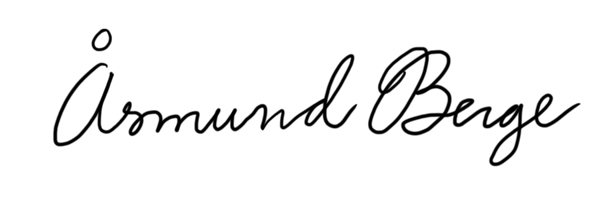 Åsmund Berge Signature