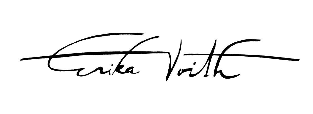 Erika Voith Signature
