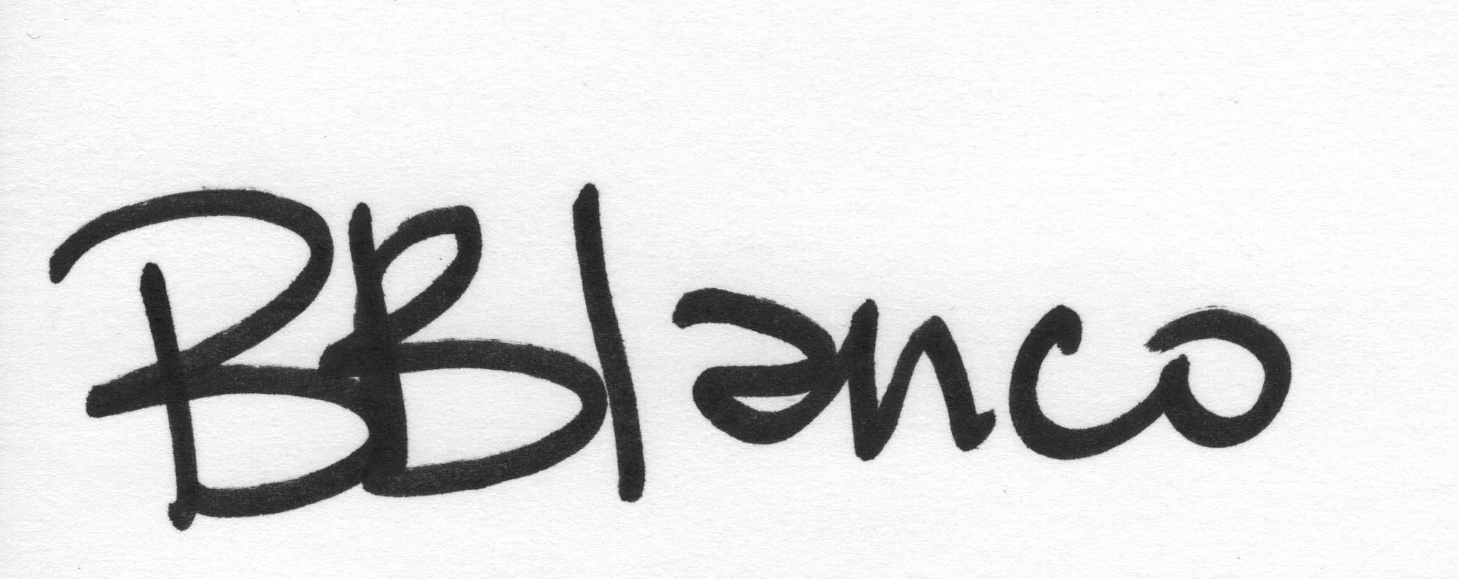 Barbara Blanco Signature