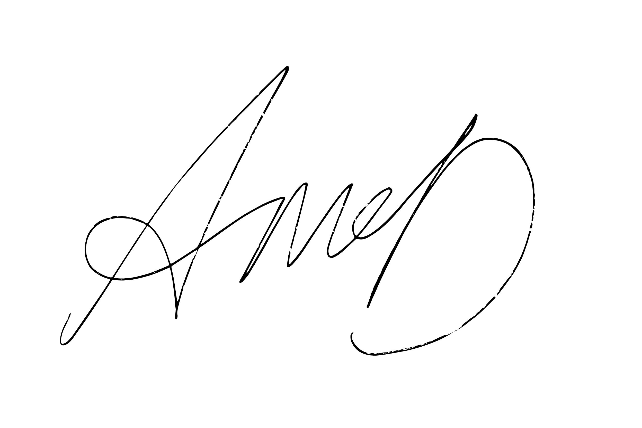 Andrew McDermott Signature