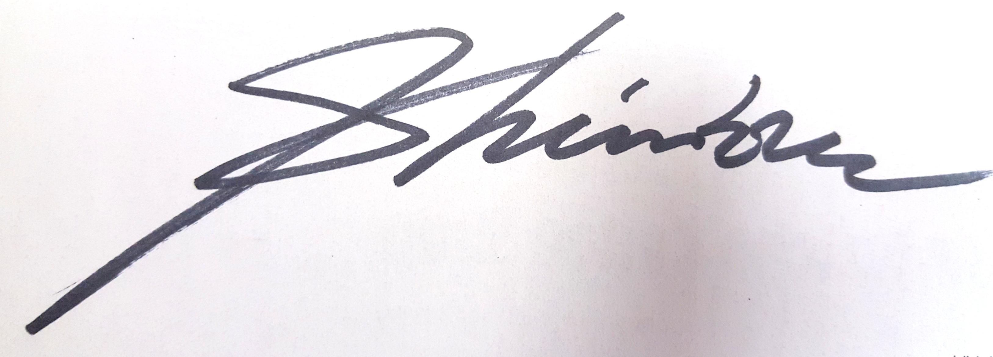 Chin H Shin Signature