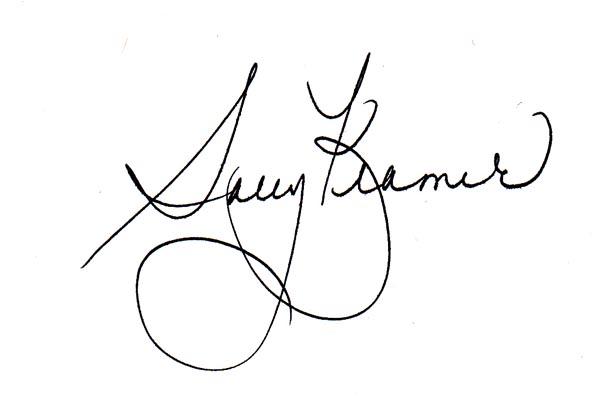 Sally Kramer Signature