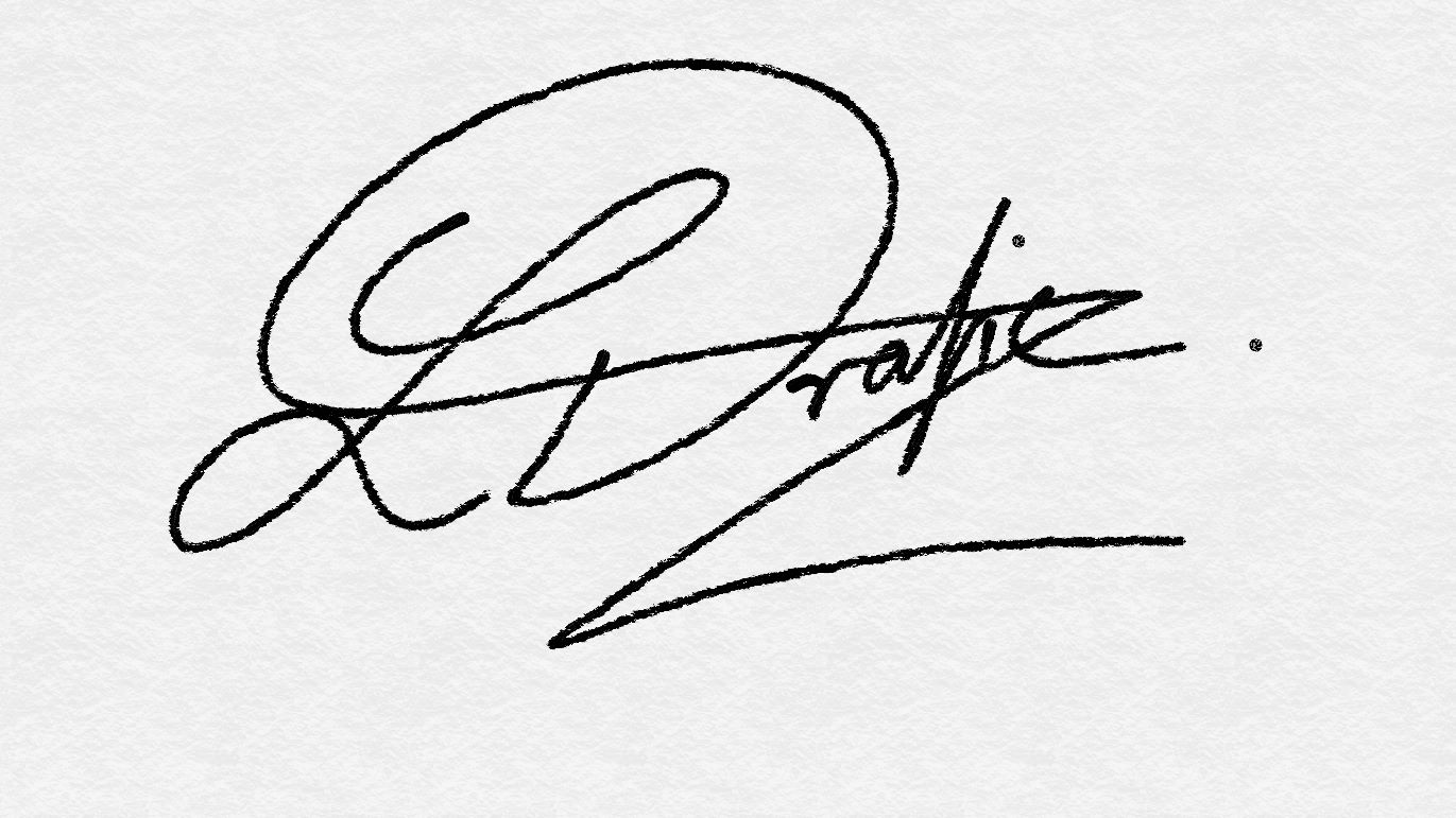 Larissa Drazic Signature