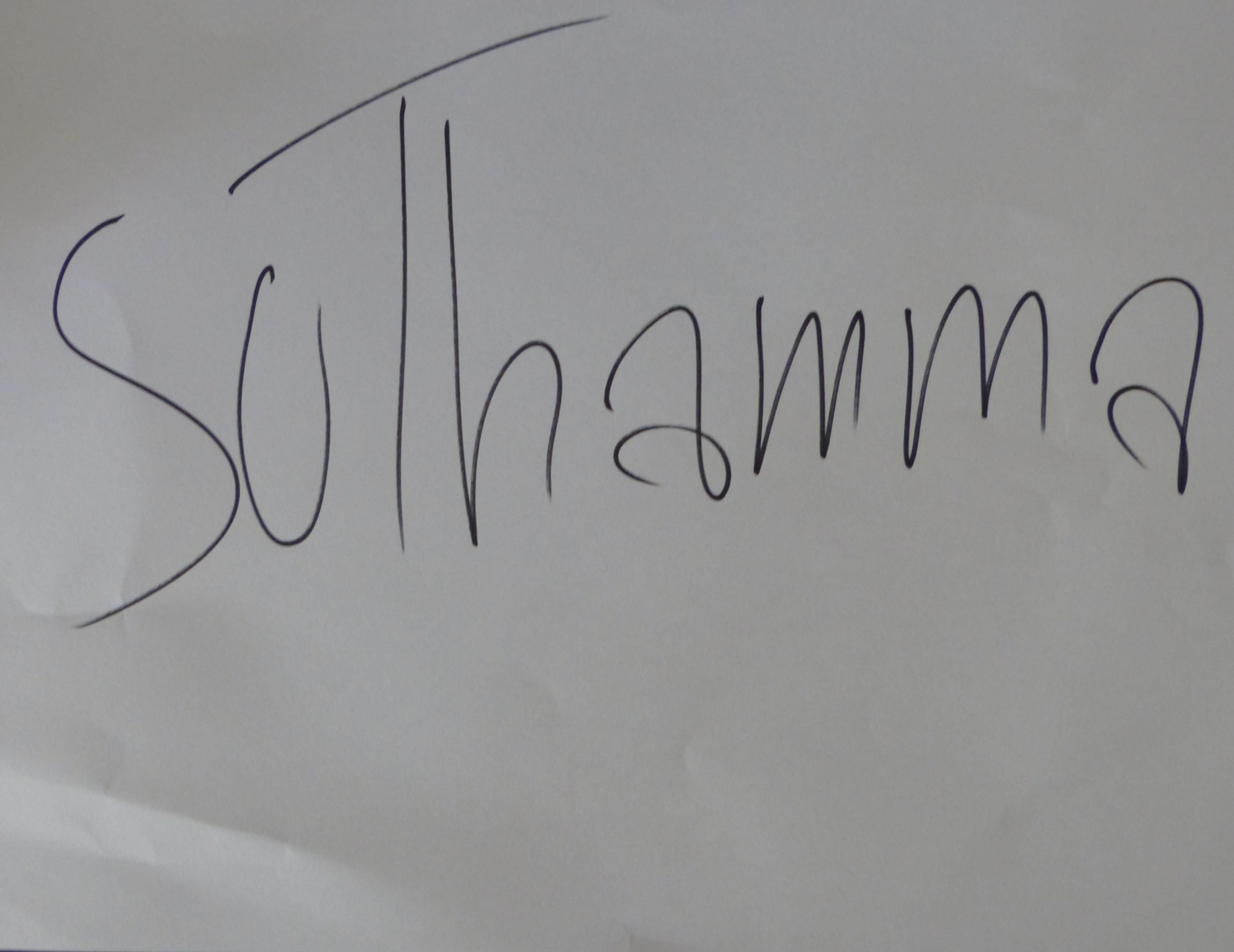Suthamma Thimkaeo Signature