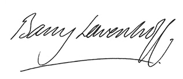 Barry Lowenhoff Signature
