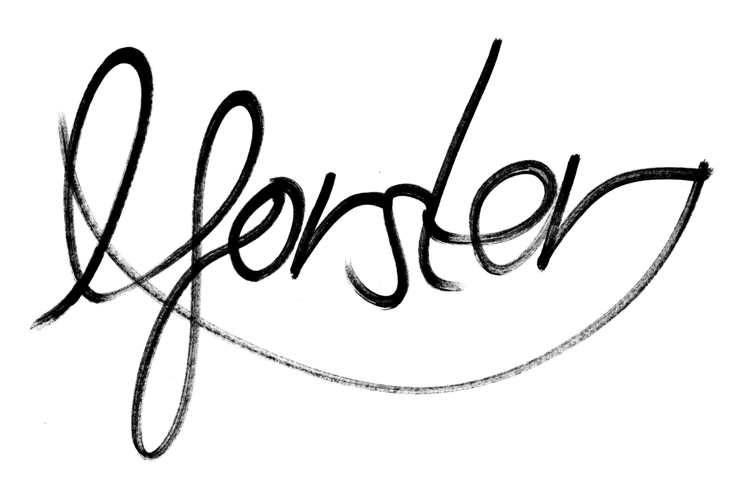 Luke Forster Signature
