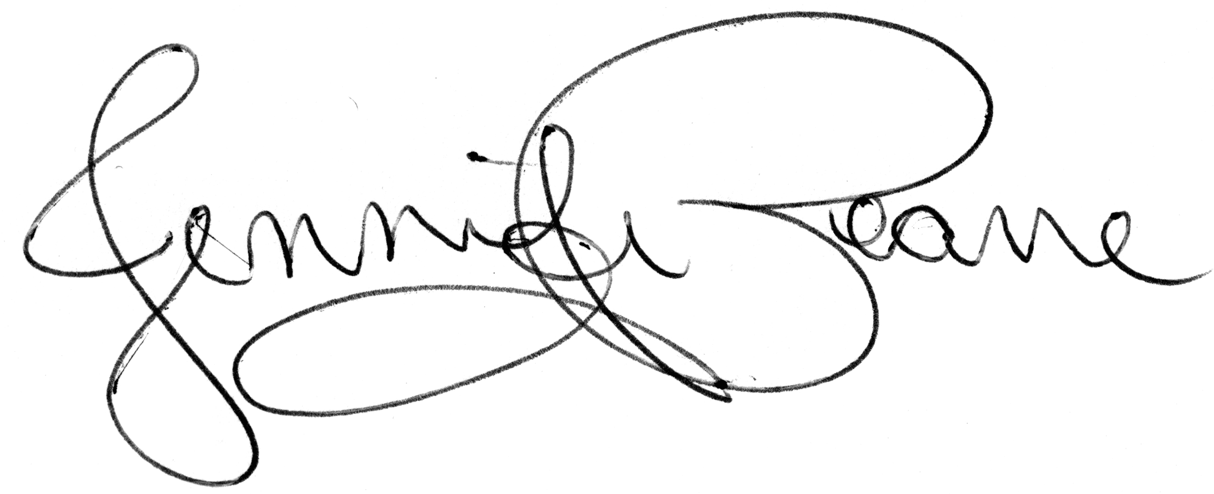 Jennifer Pearre Signature