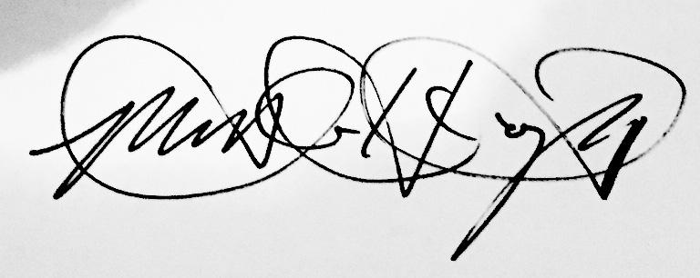 Matt Haycraft Signature