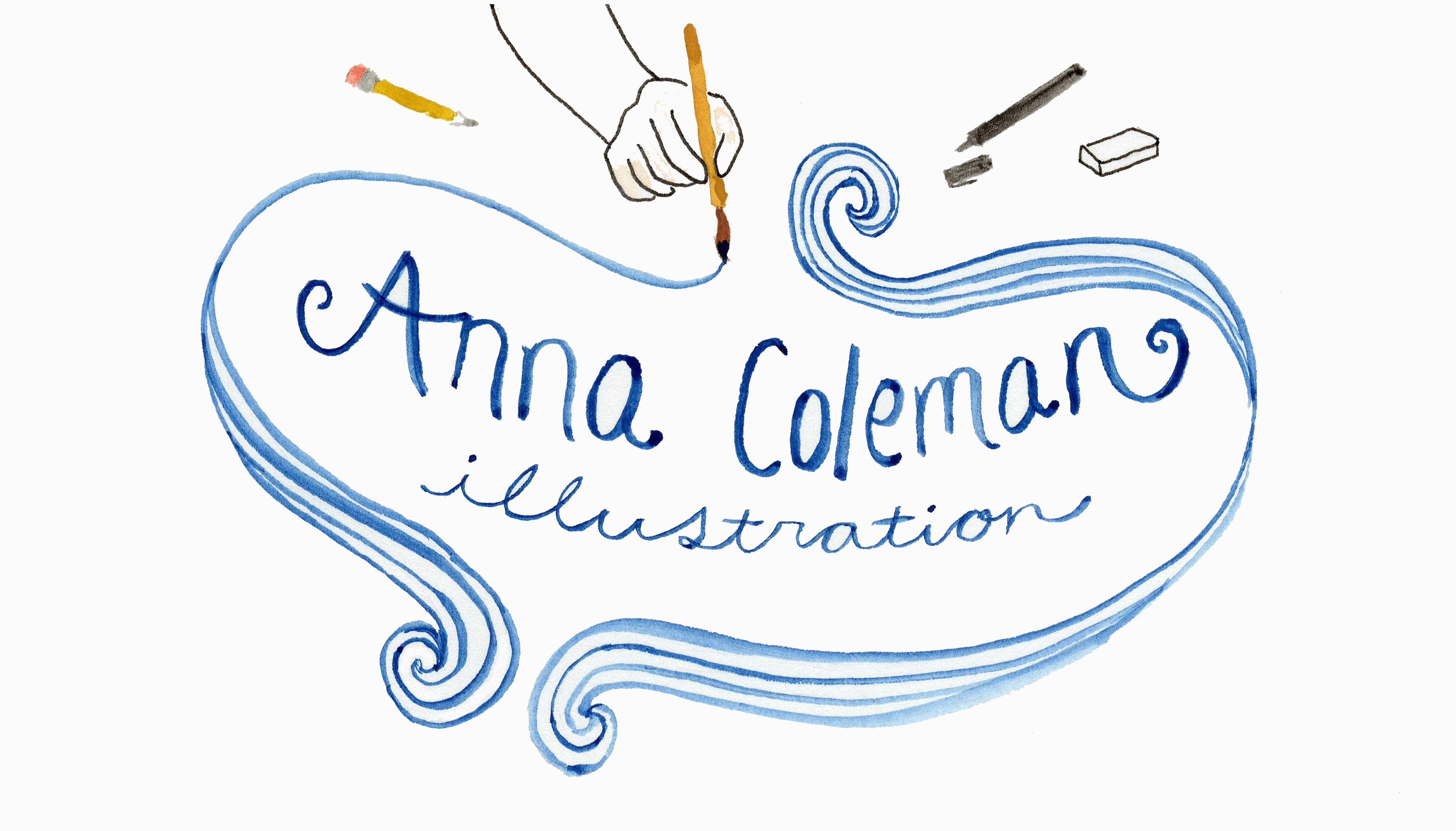 Anna Coleman Signature