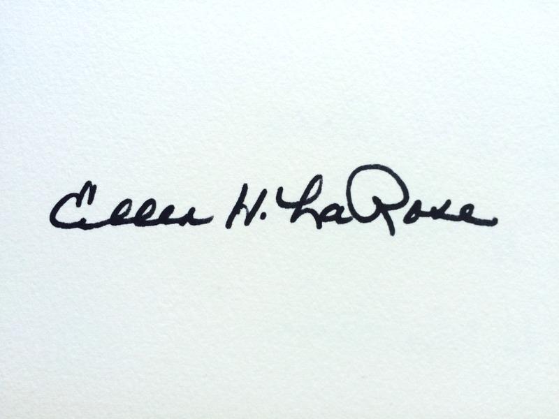 Ellen LaRose Signature