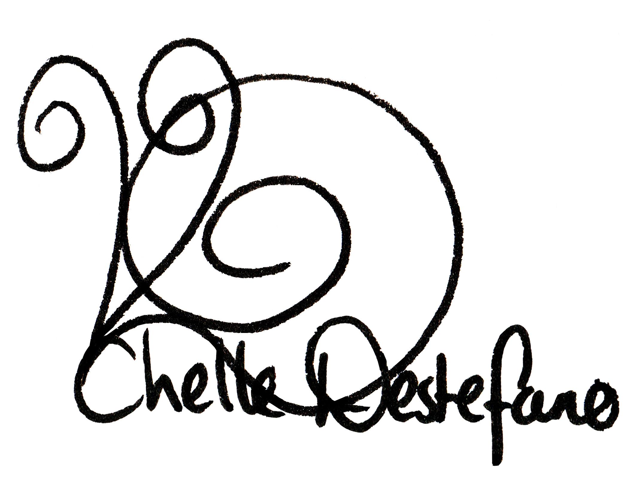 Chelle Destefano Signature
