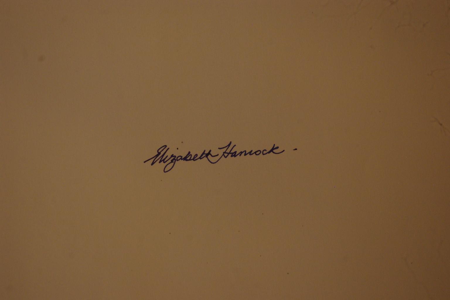 elizabeth hancock Signature
