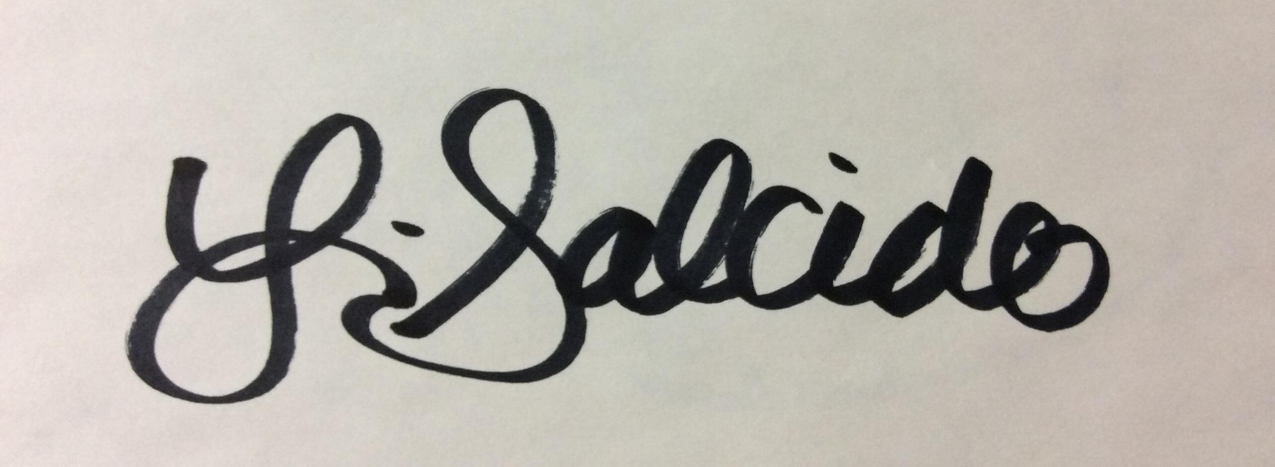 Laura Salcido Signature