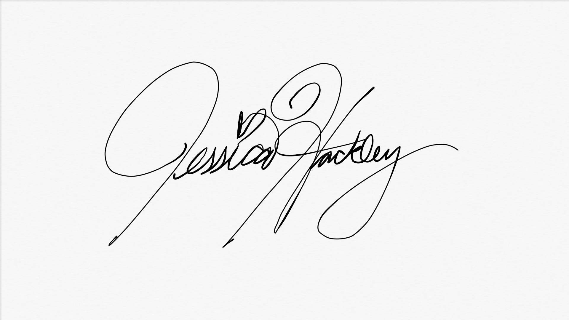 Jessica Hackley Signature