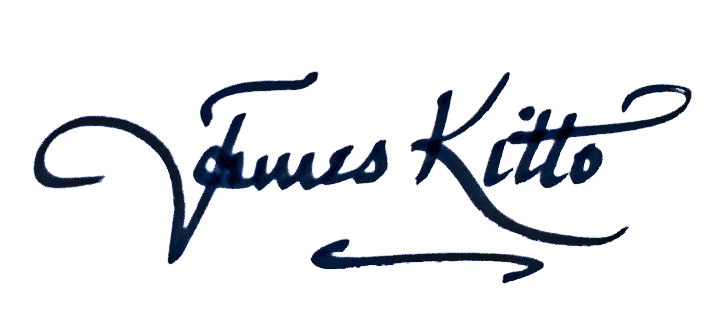 James Kitto Signature