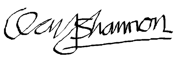 Clay Shannon Signature
