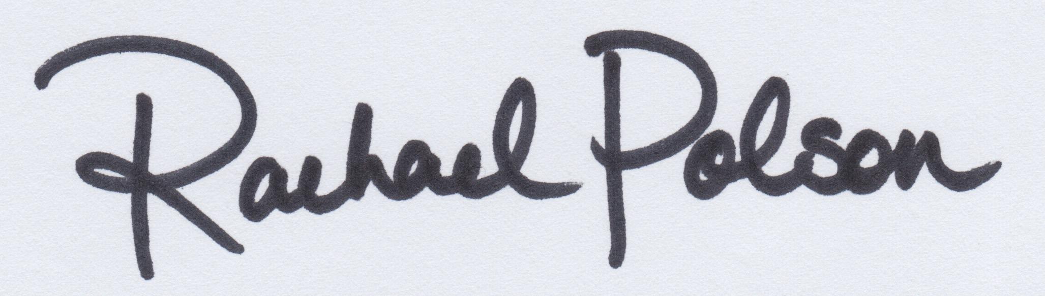 Rachael Polson Signature