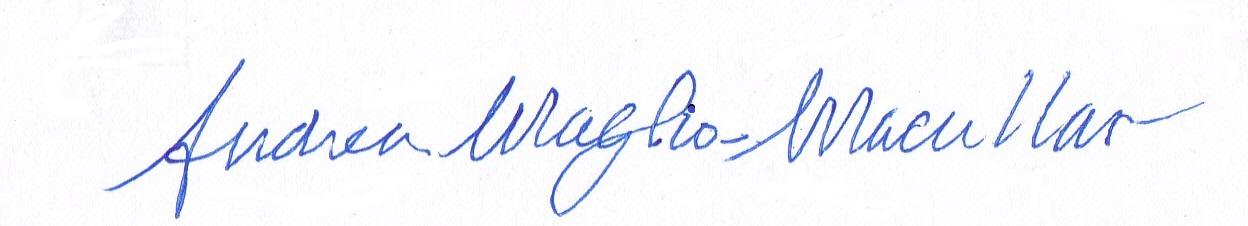 Andrea Maglio-Macullar Signature